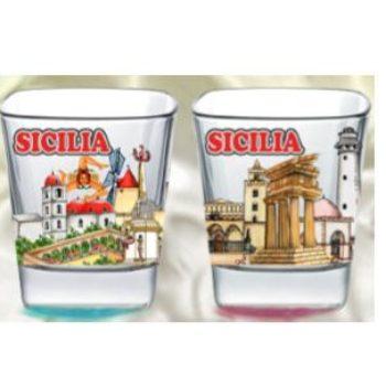 BICCHIERINO SICILIA -Cm.6- COD. VP/B027-1