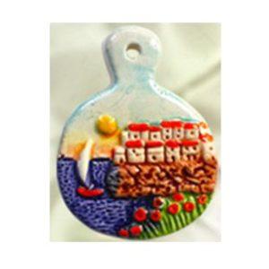 Magnete ceramica naif s.pentola cod. 280/201-1