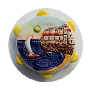 Magnete ceramica naif sole cod. 280/201-10