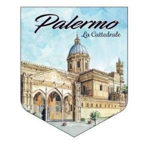 ADESIVO PALERMO LA CATTEDRALE COD.AD/08