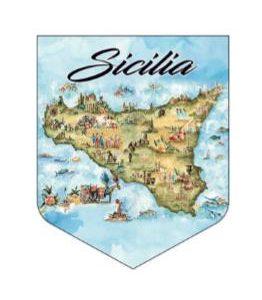 ADESIVO SICILIA ACQUERELLO COD.AD/10