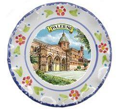 PIATTO PALERMO CATTEDRALE CM. 20 COD.73714-PC