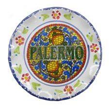 PIATTO PAL. MOSAICO CM. 15 COD.73744-PM