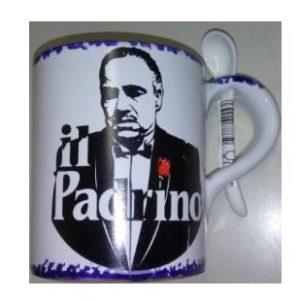 TAZZA PADRINO C/CUCCH. RETTA SPUGNATA cod. 73/225 pad.2