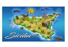 ADESIVO RETT. MAPPA SICILIA COD.AD/12