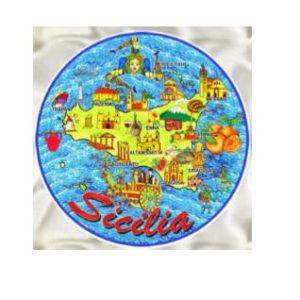 PIATTO SICILIA MAPPA MISURE ASS. CM.10/15/20
