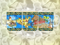 TAZZA SICILIA cod. 13/049 SIC