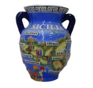 Orciolino Sicilia Rilievo Greca Misure Ass. CM. 5/7/9
