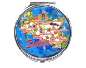 SPECCHIETTO TONDO SICILIA COD.42/056 –8