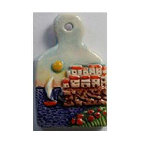 Magnete ceramica naif tagliere cod. 280/201-3