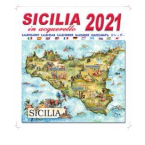 CALENDARIO SIC. MAPPA ACQUERELLO 2021