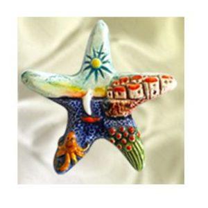 Magnete ceramica naif stella cod. 280/201-4