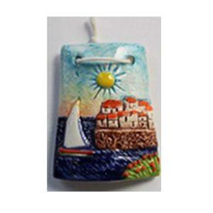 Magnete ceramica naif tegola cod. 280/201-8