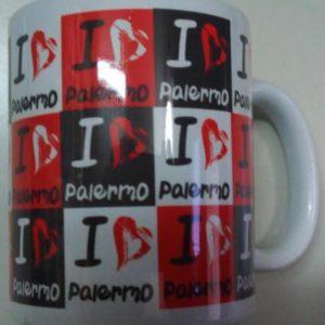 TAZZA SUBL. I LOVE PALERMO cod.CDMU021A -PAL