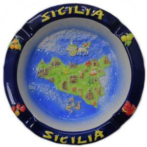 POSACENERE SICILIA TONDO RIL. cod.CE031013-1