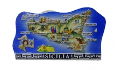 PORTATOVAGLIOLI SICILIA GRECA BLU COD.SME2118