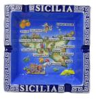 POSACENERE SICILIA GRECA BLU COD.SME2918