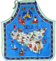 GREMBIULE SICILIA BLU COD. PURO-1BLU